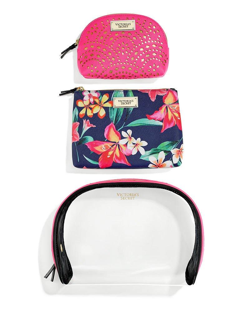 Amazon.com: Victoria s Secret bolsa de belleza Trio ...