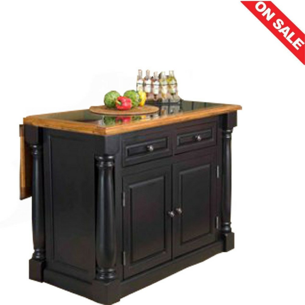 Rustic Kitchen Island Storage Utility Furniture Home Table Frame With Drawers & E book By Easy2Find