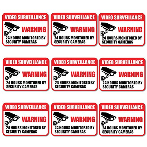Camera Warning Sticker - 5