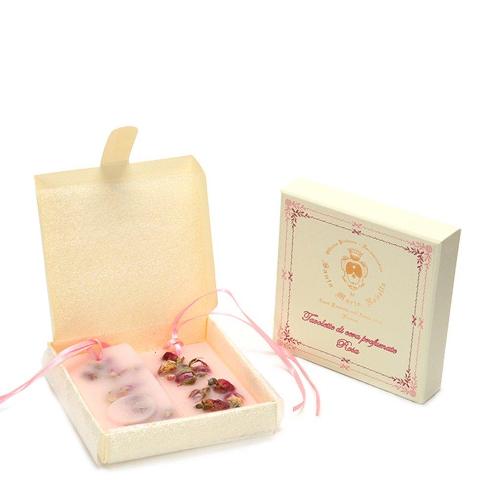 Santa Maria Novella Rose Scented Wax Tablets - Box of 2 Pcs 85526 by Santa Maria Novella (Image #1)