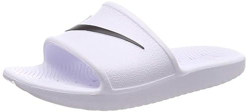 f2458a31dc0f Nike Women s s Kawa Shower Beach   Pool Shoes White Black