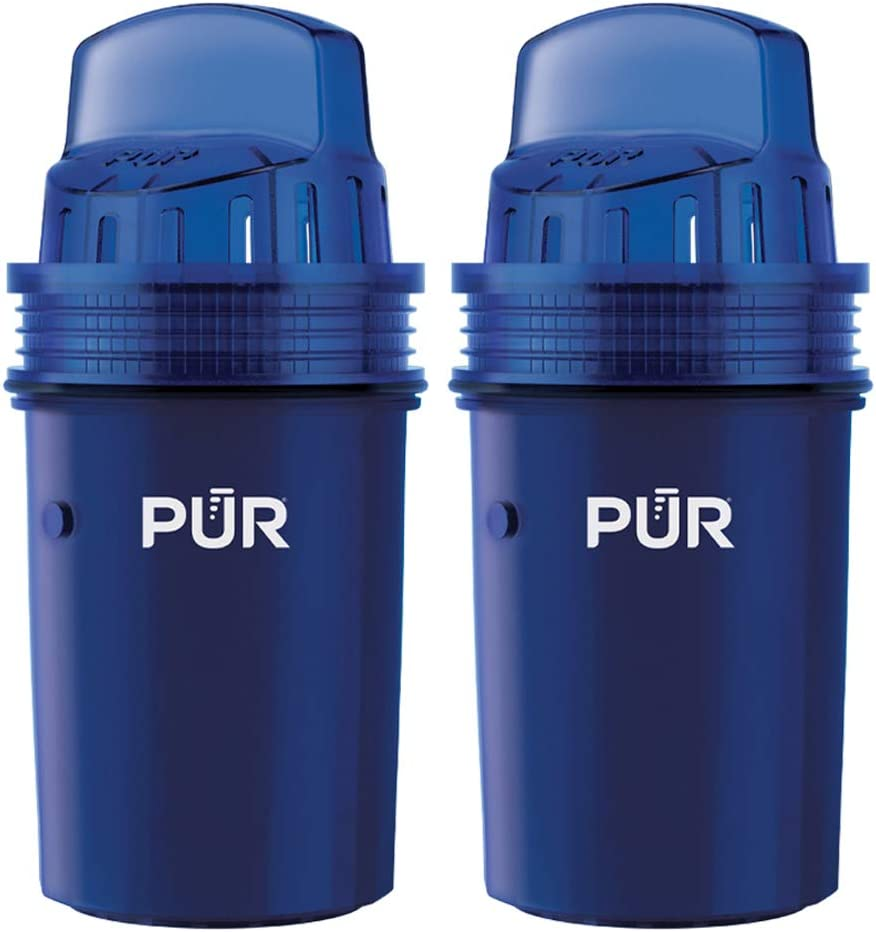 PUR Water Pitcher Replacement Filter, 2 Pack (Faster Pour): Kitchen & Dining