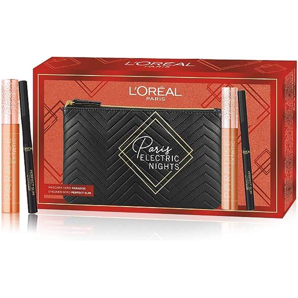 LOréal Paris Makeup - Estuche de maquillaje Paradise con delineador de ojos Perfect Slim: Amazon.es: Belleza