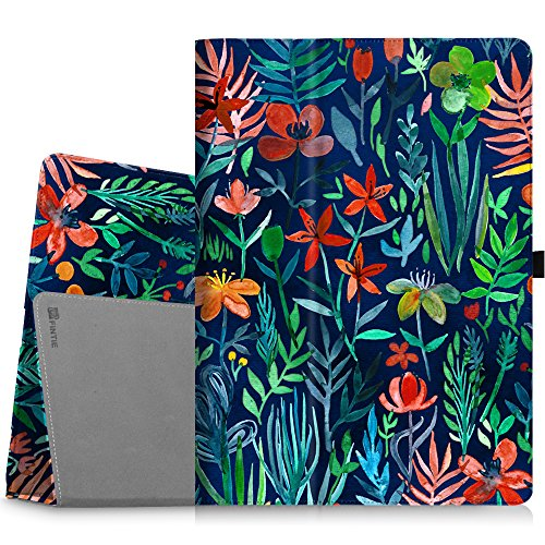 Fintie iPad Pro 12.9 Case - [Corner Protection] Premium PU Leather Folio Smart Stand Cover with Auto Sleep/Wake, Multi-Angle Viewing for iPad Pro 12.9 2nd Gen 2017 / 1st Gen 2015, Jungle Night