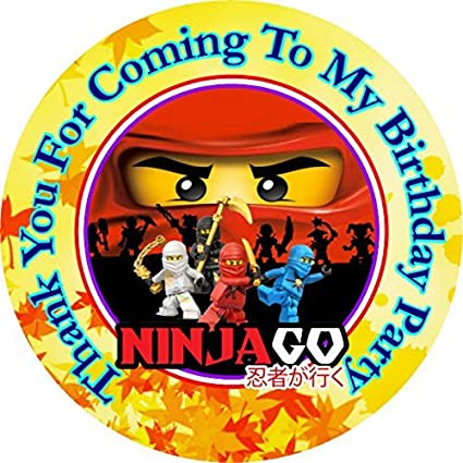 Amazon 12 Ninjago Birthday Party Favor Stickers Bags Not
