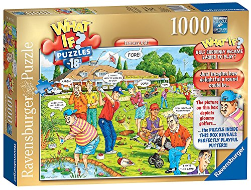 Ravensburger What IF? No.18 - Fantasy Golf, 1000pc Jigsaw Puzzle ()