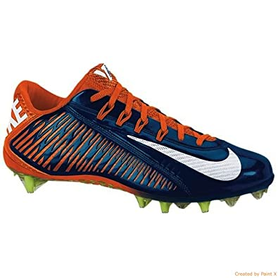 00e2756d9946d Amazon.com | Nike Vapor Carbon Elite TD Football Cleats Shoes Blue ...