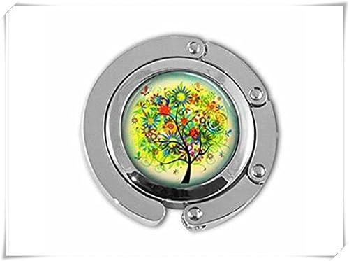 Baum des Lebens Blume Baum Floral Garten Geldbörse Haken Geldbörse Kleiderbügel Handtasche Halter Re...