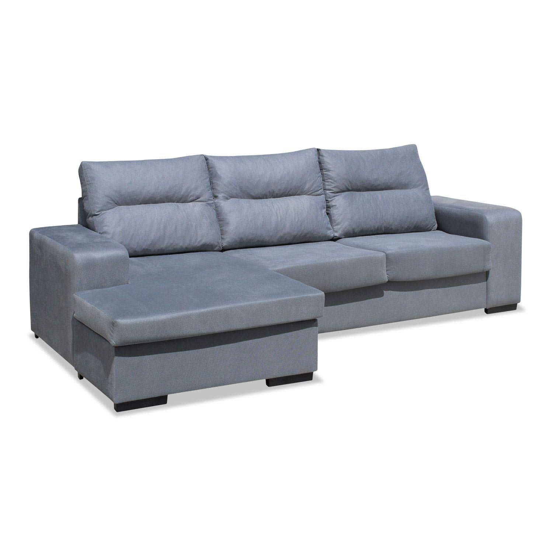 Muebles Baratos Sofa Chaise Longue Tres plazas Subida ...