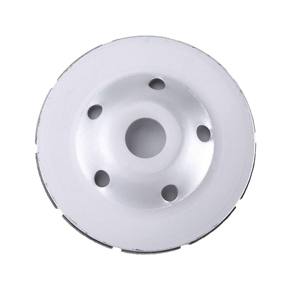 Disco de pulido de diamante granito disco segmentado Disco de pulido de diamante de doble hilera 115MM // 125MM // 180MM Opcional m/ármol rueda de copa de diamante para concreto mamposter/ía