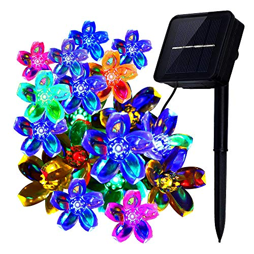 Multi Colored Solar String Lights in US - 9
