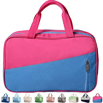 Womens Large Toiletry Bag Dry Wet Separate Beach Bag Waterproof Swimming  Storage Bags Zipper Tote Swimming 17e9353205