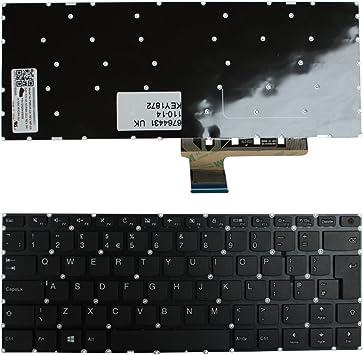 Lenovo NSK-BX2SN Lenovo IdeaPad 110-14IBR Keyboards4Laptops UK Layout Black Windows 8 Laptop Keyboard Compatible with Lenovo 9Z.NCRSN.20U