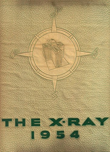 (1954 X-RAY Yearbook, Medical College of Virginia MCV, Richmond VA)