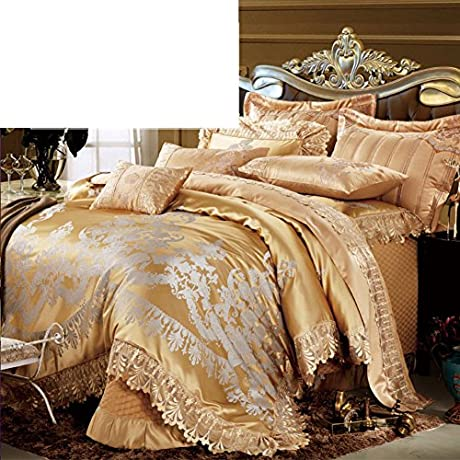 Continental Luxury 10 Piece Suite Multi Piece Set Of Bed Blue B King