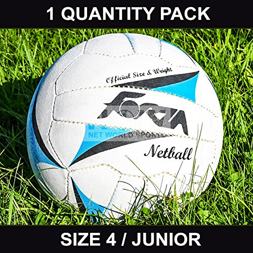 FORZA Match Netball [Junior] - Size 4 - Perfect for schools and clubs - [Net World Sports]