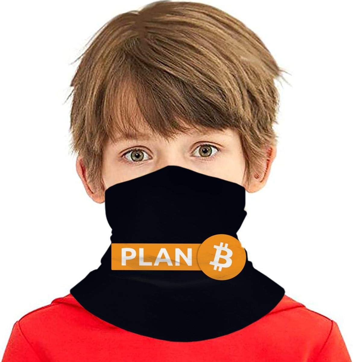 SYDIYIWL Bitcoin Plan B Multi Face Cover Bandana Cuello ...