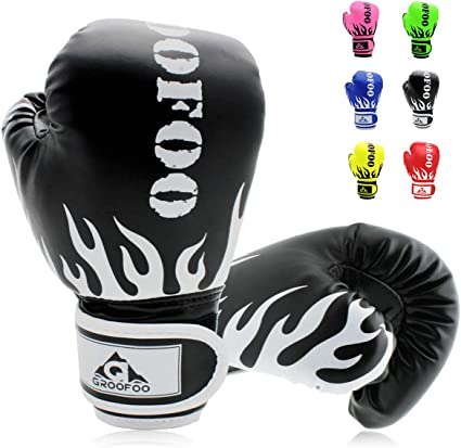 Kids Adults Kickboxing Helmet /& Gloves Boys Girls Sparring Protective Gear