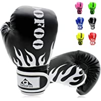 GROOFOO Kids Boxing Gloves for Child Punching Bag Sparring Training, 4oz 6oz fit 3 to 14 Years