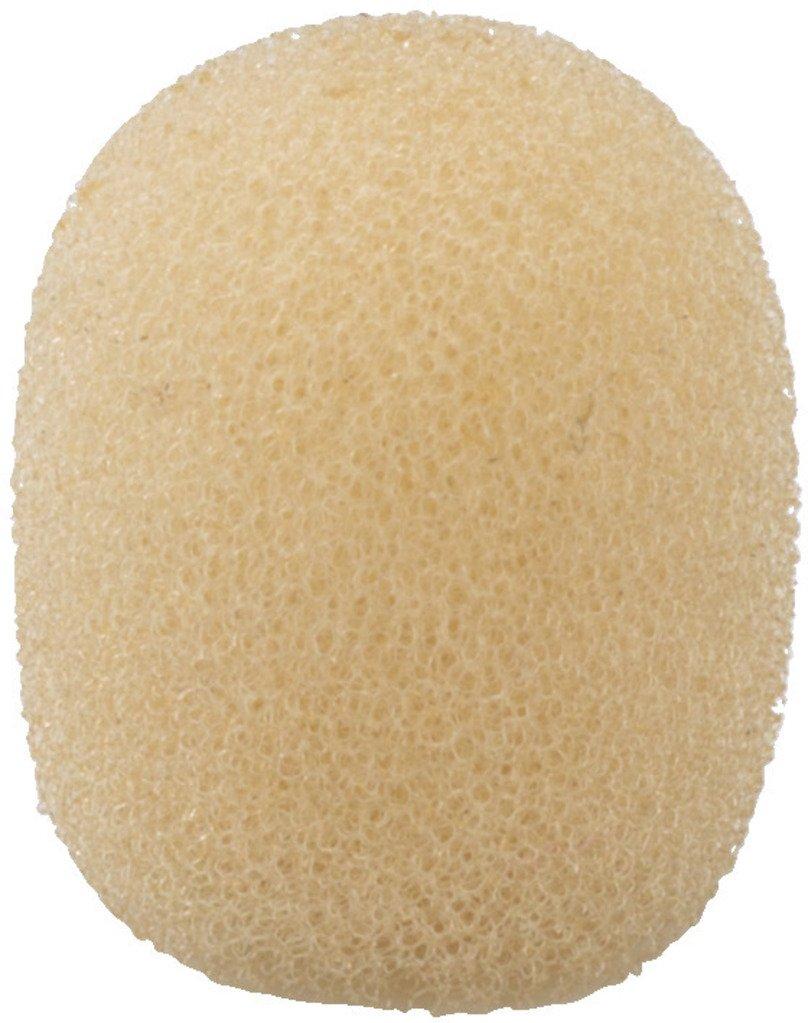 beige Monacor 23.4310 Pack de 4 bonnettes mousse pour microphone 11x12mm