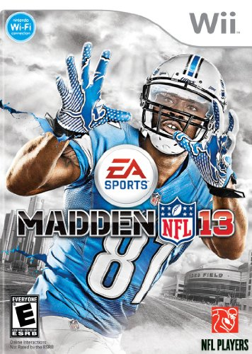 Madden NFL 13 - Nintendo Wii (U Of M Football compare prices)
