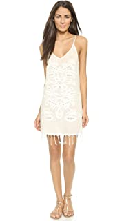 3f1f9692a4 PilyQ Women's Lola Lace Dress Cover Up at Amazon Women's Clothing store: