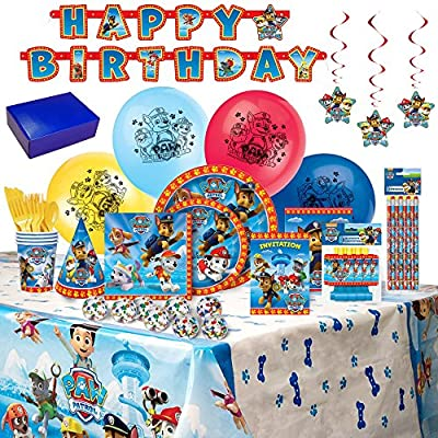 Birthday Bash In A Box Party Supplies