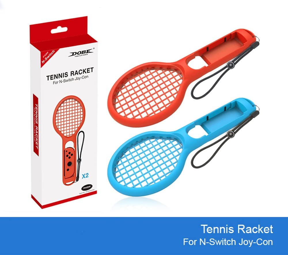 Raqueta de Tenis Twin Pack para N-Switch Joy-con Controladores para Mario Tennis Games