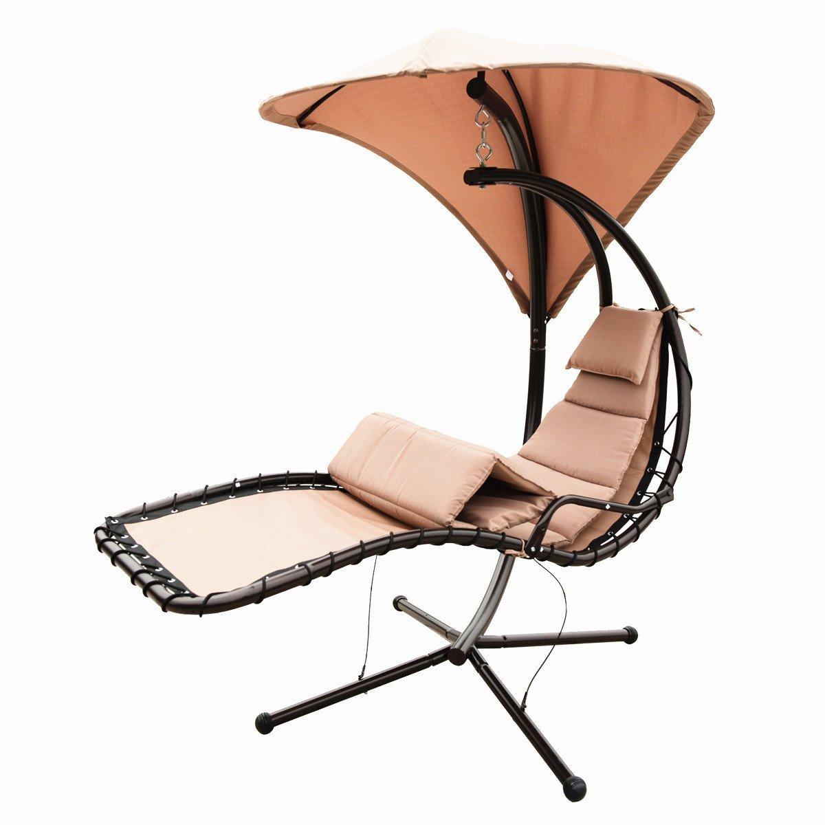 Amazon.com : Naturefun Hammock Chair with Arc Stand / Adjustable ...