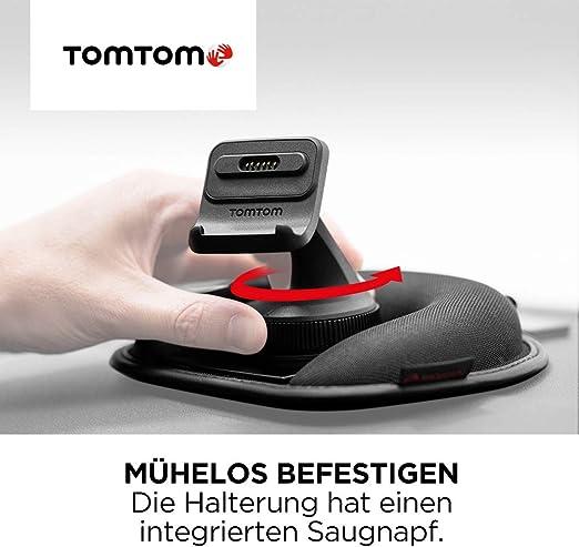 Tomtom Armaturenbretthalterung Für Alle Tomtom Modelle Z B Tomtom Go Start Via Go Basic Go Essential Go Premium Rider Go Professional Go Camper Siehe Kompatibilitätsliste Unten Auto