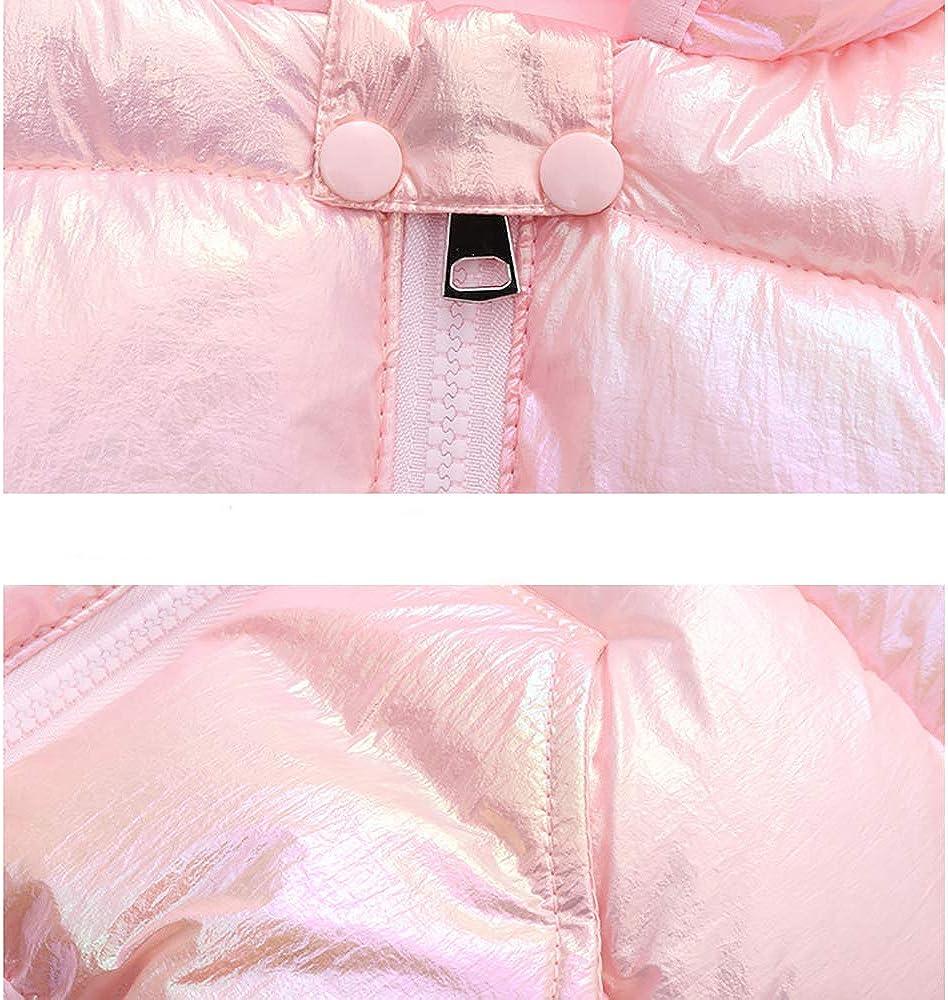 Winter Down Coats for Kids Baby Boys Girls Light Puffer Padded Jacket Bear Hoods Infant Outerwear