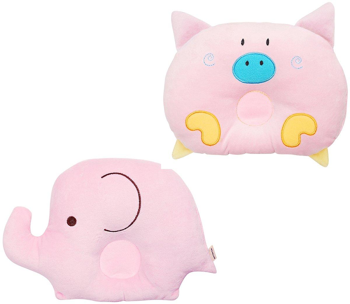 Baby Protective Pillow Elephant Porket Cartoon Design Toddler Head Pillow Both Meet Yuan