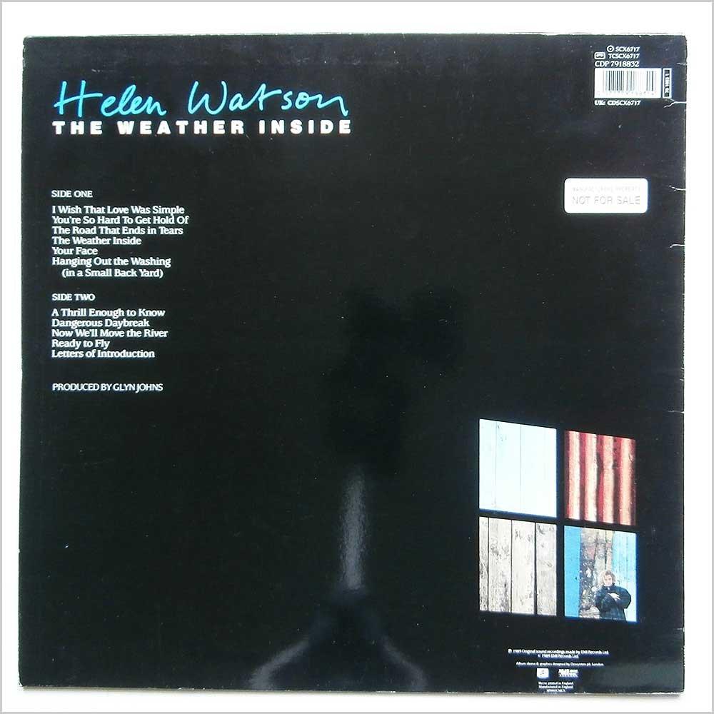 Helen Watson - Weather inside (1989) / Vinyl record [Vinyl