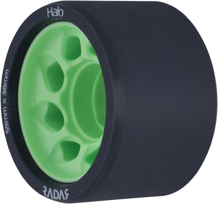 4 Pack of 38mm x 59mm Wheels Halo Roller Skate Wheels Radar Wheels