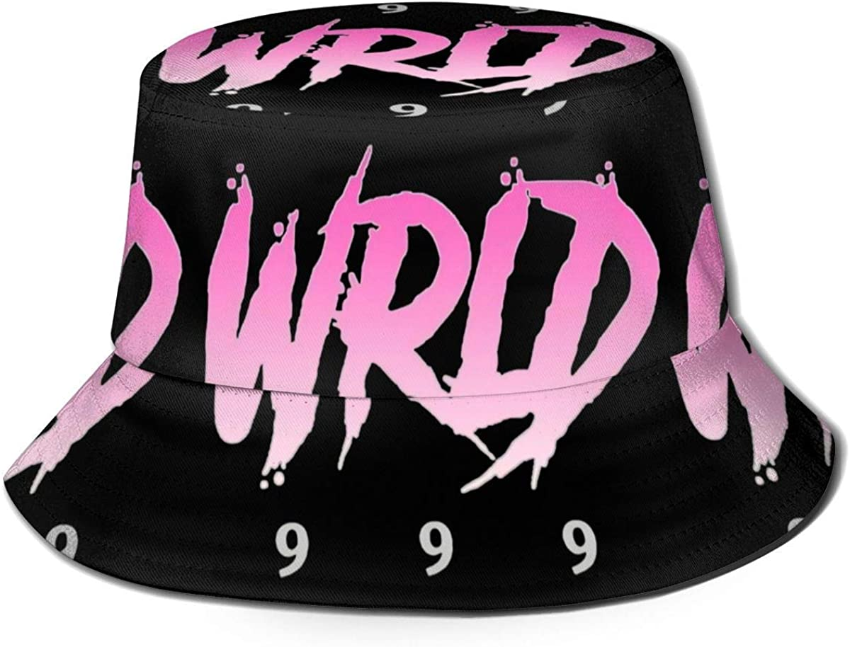 gii6LMLMLFGHLBB Rip 9 9 9 Juice Wrld Hip Hop Summer Breathable Bucket Hat Fisherman Hat Unisex