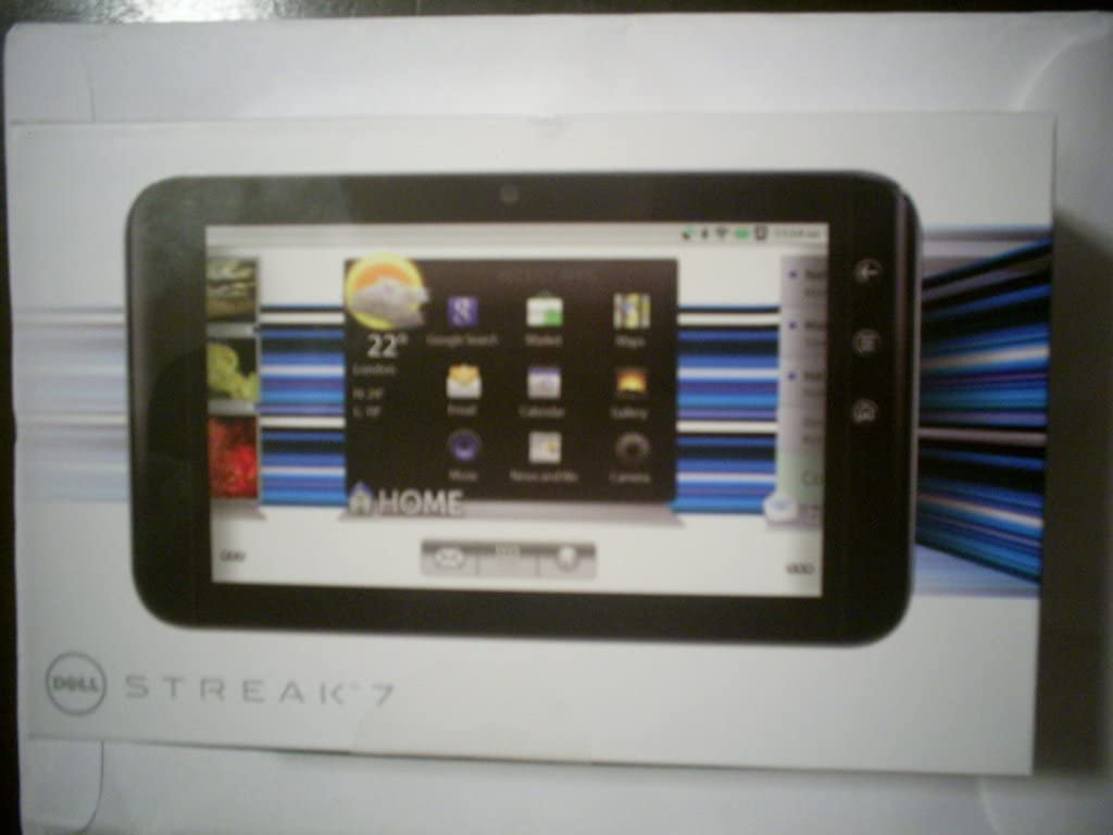 Dell Streak 7 Tablet w/ 16gb Memory & Android Honeycomb OS