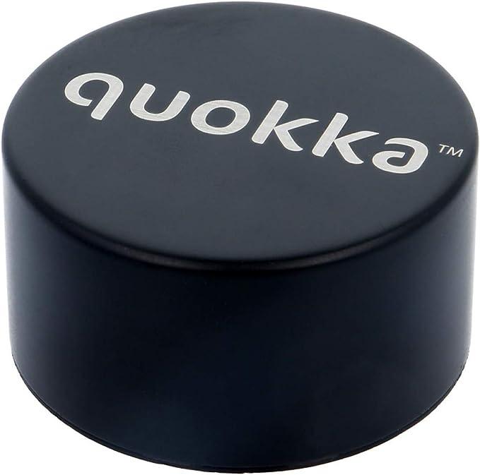 Quokka Solid Mantiene el fr/ío y el Calor para Ni/ños y Adultos Jet Black 630 ML Botellas De Agua Acero Inoxidable Sin BPA |Botella T/érmica De Doble Pared