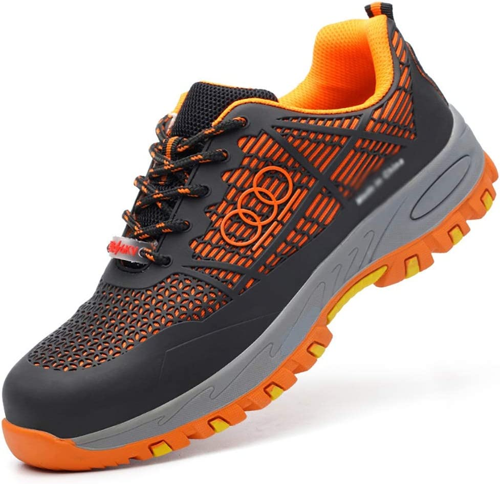 ZYFXZ Mens Breathable Safety Trainer