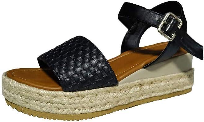 sandales compensées plates Tunisie | meilleur prix, avis L0wGU