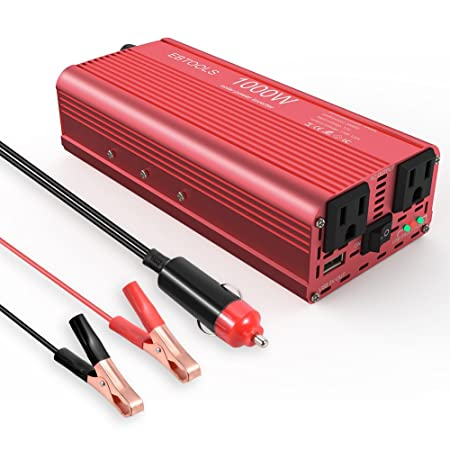 Review EBTOOLS Car Power Inverter,