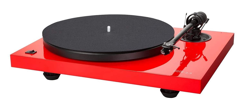 Music Hall MMF de 2.3 Le Tocadiscos con Spirit fonocaptor mm rojo ...