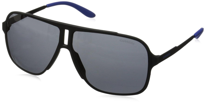Carrera 122/S T4 Gafas de sol, Gris (Grey/Black Fl), 61 ...