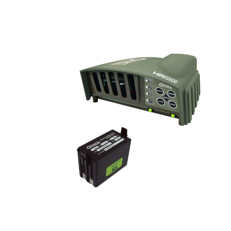 Ozonics HR-200 Electronic Scent Eliminator (HR-200 Regular + XL Battery)