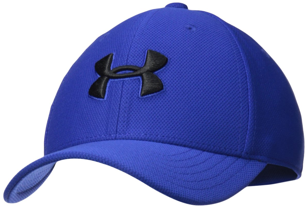 Under Armour Boys' Blitzing 3.0 Cap, Royal (400)/Black, Youth X-Small/Small