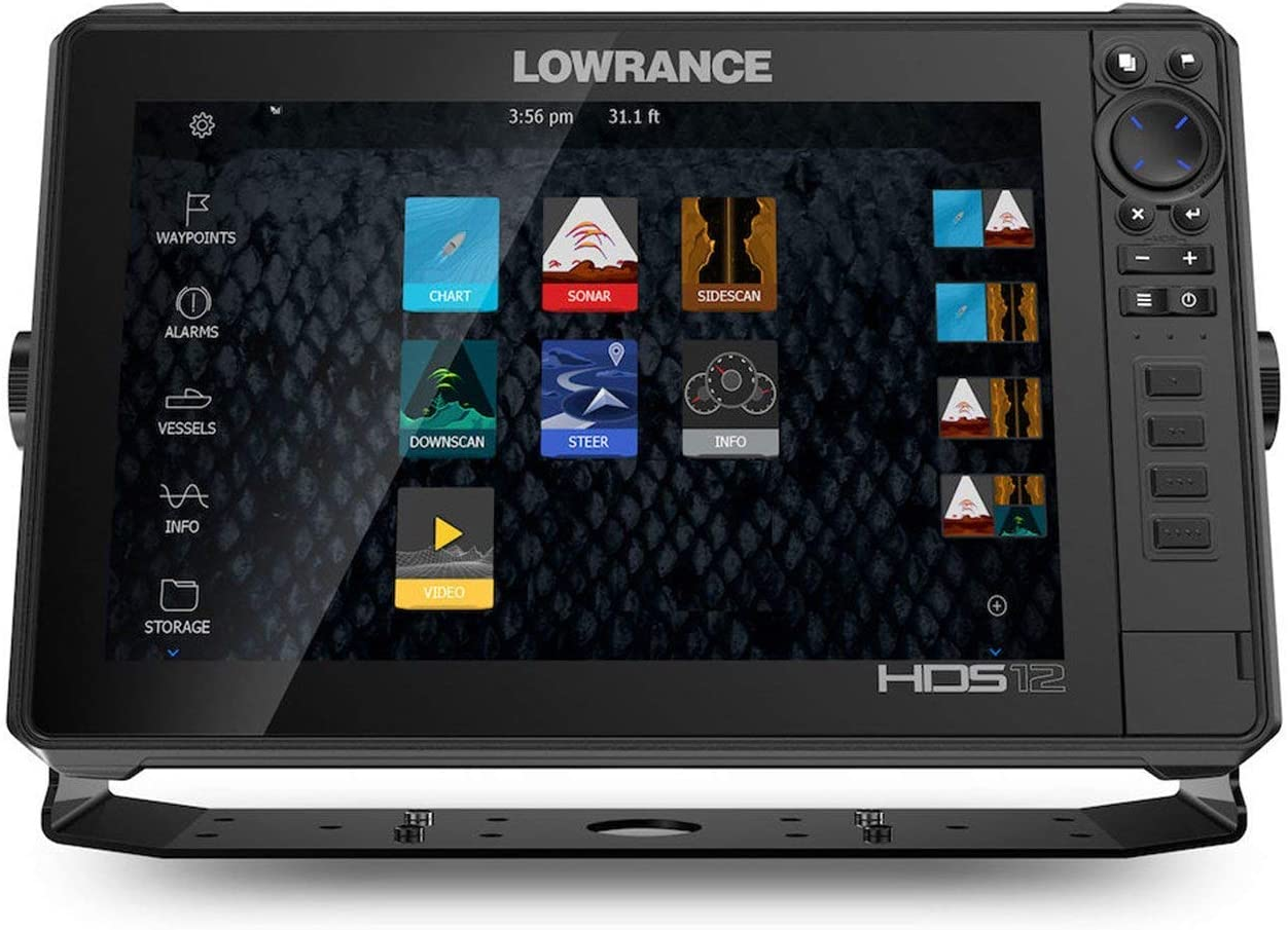 No Transducer Lowrance HDS-12 Live with C-MAP Pro Chart Renewed ...