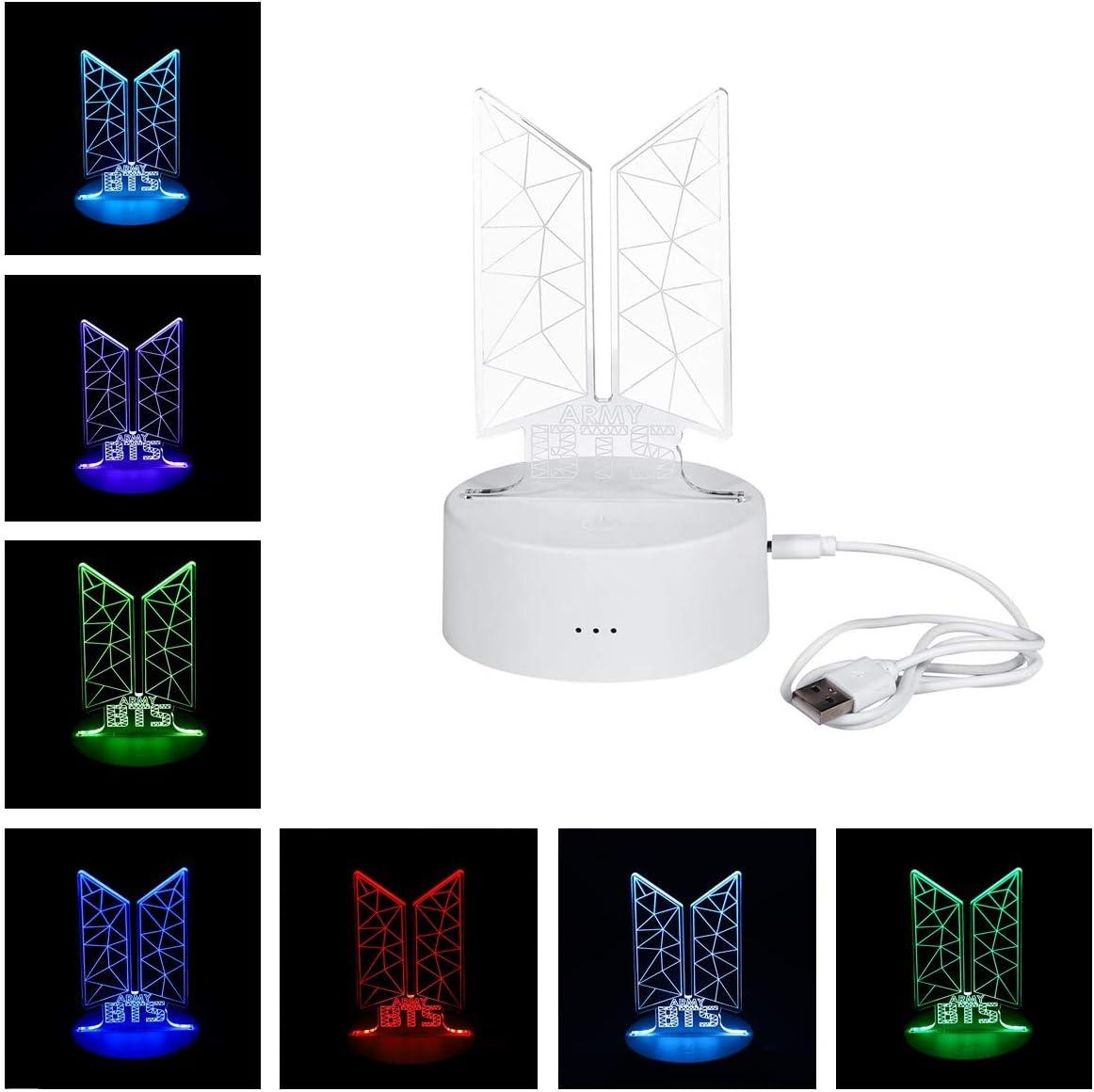 Lampara Led 3D - Kpop BTS