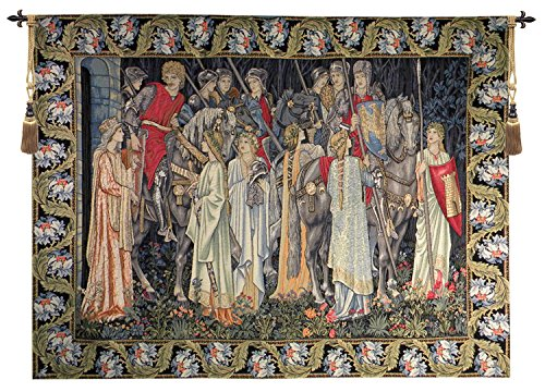 The Holy Grail European Wallhanging by Charlotte Home Furnishings