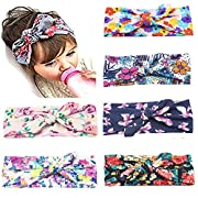 Mookiraer Newest Baby Headbands Turban Knotted Girl Hairbands Toddler Childrens (LDM01)