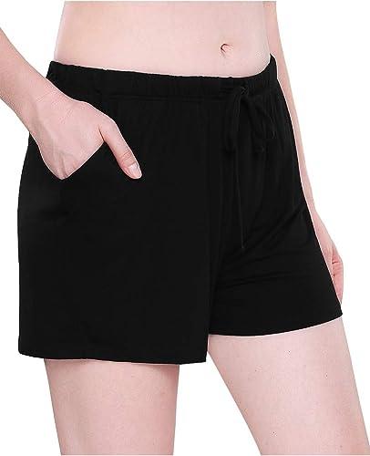 UNibelle Women Pajama Pants Short Pajama Pants Nightwear Pants 2er Sleep Shorts Leisure Shorts S-XXL