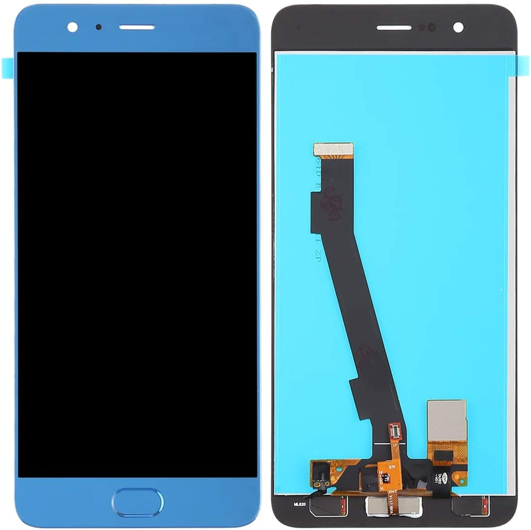 Black Color : Black YANGJIAN LCD Screen and Digitizer Full Assembly for Xiaomi Note 3